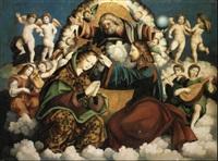 incoronazione della vergine by vicenzo (v. della marca) pagani