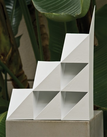 origami sculpture by arthur silverman