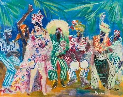 les ballets de katherine dunham by jean dufy