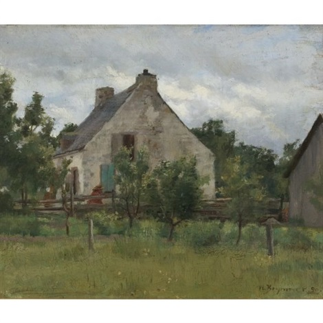 maison de campagne by william brymner