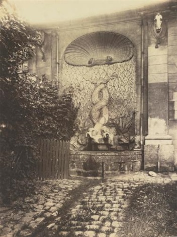 issy ancien chateau by eugène atget