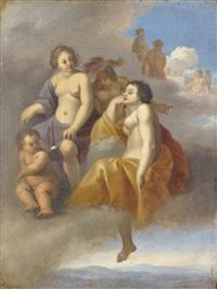 vénus, minerve et junon (?) by johan van haensbergen