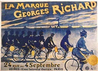 la marque georges richard by posters: sports - cycling