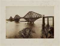 scotland, edinburgh, forth bridge (album of 40) by james valentine