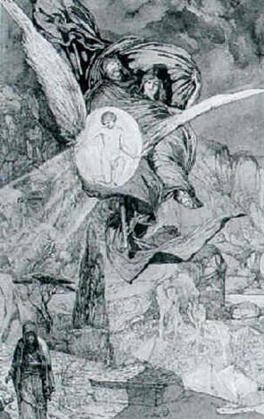 faust mephisto und homunculus by franz lippisch