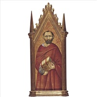 st. mark by pietro lorenzetti