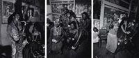 fela kuti's wives (triptych) by adrian boot
