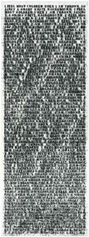 untitled #1 (second version) by glenn ligon