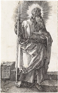 st. thomas by albrecht dürer