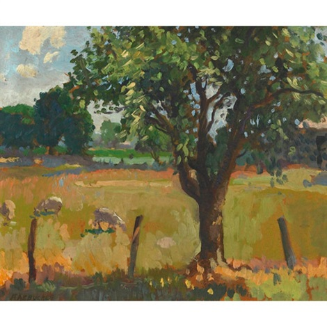 pasture land by george franklin arbuckle