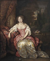 portrait of a lady by johan van haensbergen