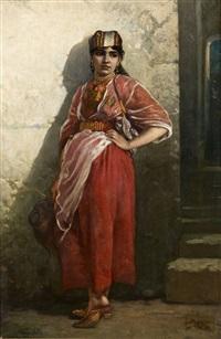 jeune femme by henri regnault