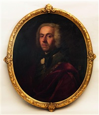 portrait en buste de trois by flemish school (18)