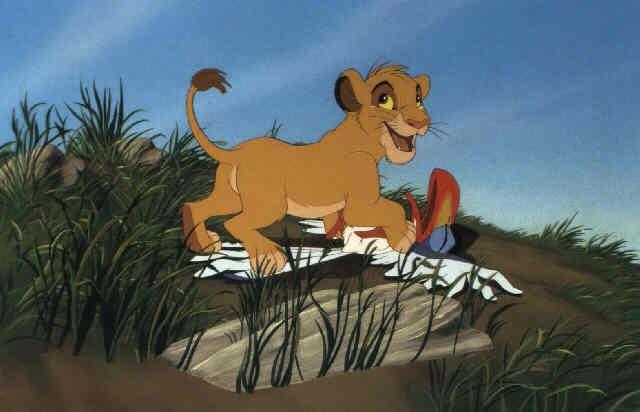 The Lion King Simba And Zazu By Walt Disney Studios On Artnet