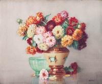 bouquet de fleurs by isidore rosenstock