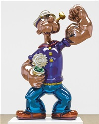 popeye by jeff koons