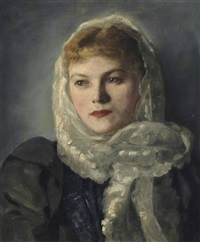 portrait of else sapatka by ivan g. olinsky