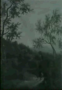paysage italianisant by timotheus de graef