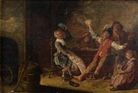 réjouissances dans une auberge by bartholomeus molenaer