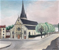 l'église de clamart by léopold survage