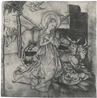 the nativity by martin schongauer