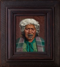 no koora te cigaretti, a portrait of mihipeka wairama, tuhourangi by charles frederick goldie