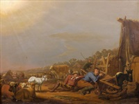 l'annonce aux bergers by jan van ossenbeeck