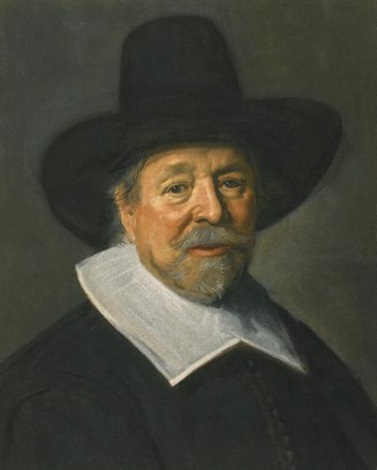 portrait of a gentleman probably the reverend john livingston by frans hals the elder