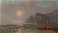 the cove at dusk by mortimer l. smith