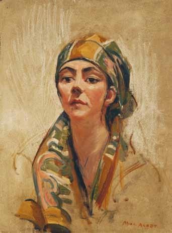 portrait of a lady florence mcgregor  by mina arndt