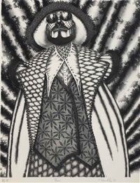 klaus; tudor (2 works) by ed paschke