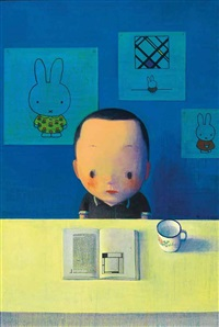 蒙德里安、迪克. 布魯納和我 (mondrian, dick bruna and i) by liu ye