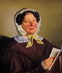 portrét paní aloisie taschkové, rozené doudlebské ze sternecku by josef manes
