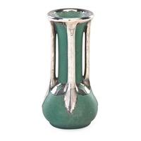rare small vase by teco