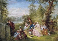 fete champêtre by henry andrews
