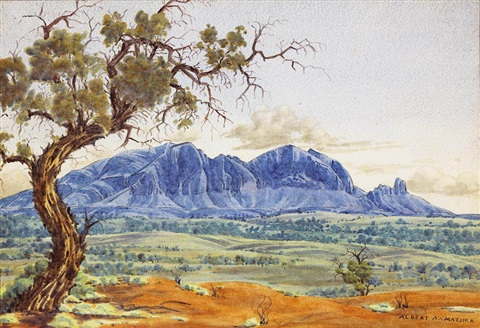 mount sonder by albert namatjira