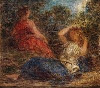 deux baigneuses by henri fantin-latour