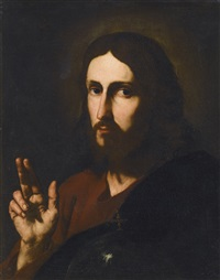 christ blessing by jusepe de ribera