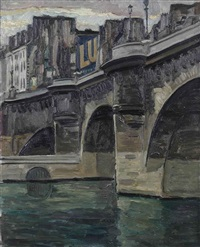 pont neuf, paris by dirk filarski