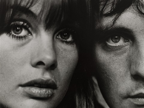 Jean Shrimpton And Terence Stamp London By Terry Oneill