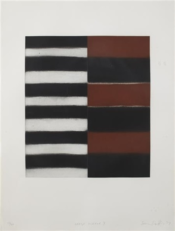 large mirror ii by sean scully