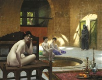 femmes au bain by jean-léon gérôme