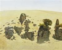 rocky outcrop by bryan westwood