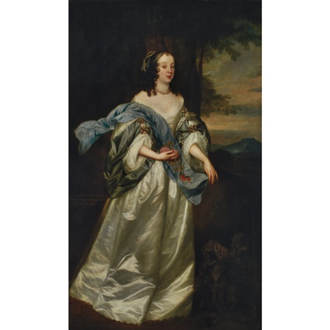 portrait of lady catherine stanley by sir anthony van dyck