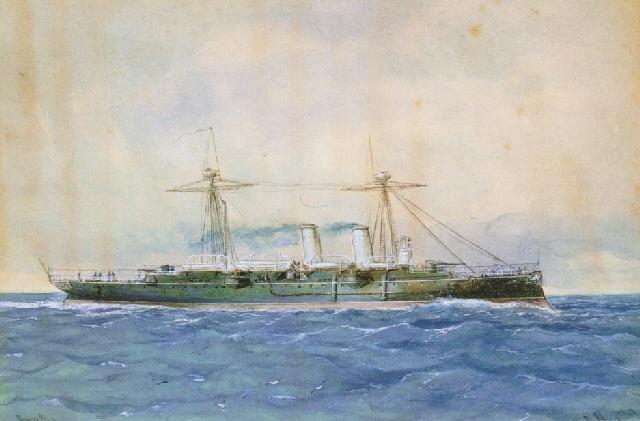la fragata reina regente by raphael monleon y torres