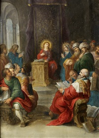 christ amongst the doctors by frans francken iii
