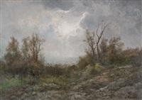 paesaggio con alberi by francesco capuano