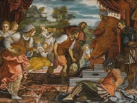 the triumph of david by domenico tintoretto