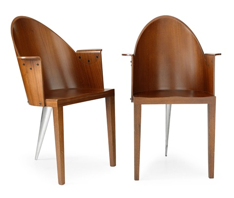royalton karmstolar pair by philippe starck