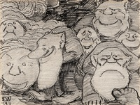 troll by erik theodor werenskiold